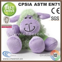 Super cute toy sheep, stuffed little purple sheep doll for sale , cheap animal stuffed toy for kids