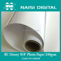 High Quality Waterproof Inkjet Printing RC Photo Paper