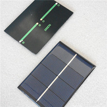 Customized solar panel 1W 2V 70*100mm applied for mini solar systems factory directly supply