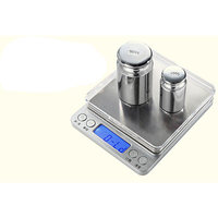 500g/0.01g stainless steel good quality weighing digital scale
