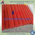 Colores naturales HDPE plástico varillas / bar