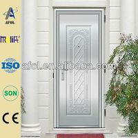 exterior stainless steel doors side panels