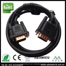 Digital TV wiring diagram vga cable with HD 15pin