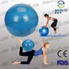 """Pilates Yoga 8"""" Blue Ball Fitness over ball bender home exercise"""