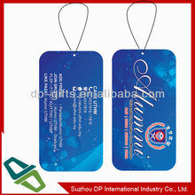 Promotional Custom Made Paper Car Air Freshener