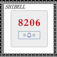 SHIBELL tempered glass cheap fashionable hotel room number