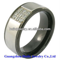 fashion medical 316L stainless steel sexy diamond cock ring