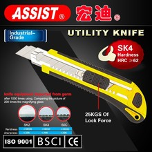 Quick release adjustable knife wholesale stainless steel blade knife cutter