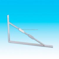 Heavy duty shelf brackets ,triangle corner reinforcing bracket.galvanized steel shelf bracket