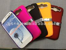 2012 hot sale Chrome case with holder for Samsung Galaxy S3 i9300