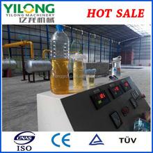 small model tire oil/plastic oil to diesel gasoline fuel refinery
