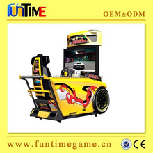 Popular amusement coin operated car driving games, entertainment arcade machine