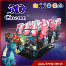 2015 hot sell 5D cinema six rider 6d cinema system china manufucturer