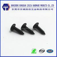 ST2.6X8 black anodized pan head self tapping screws