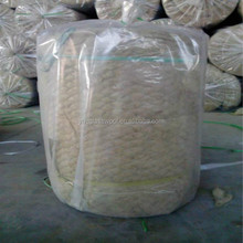 Wire netting facing rock wool insulation materials