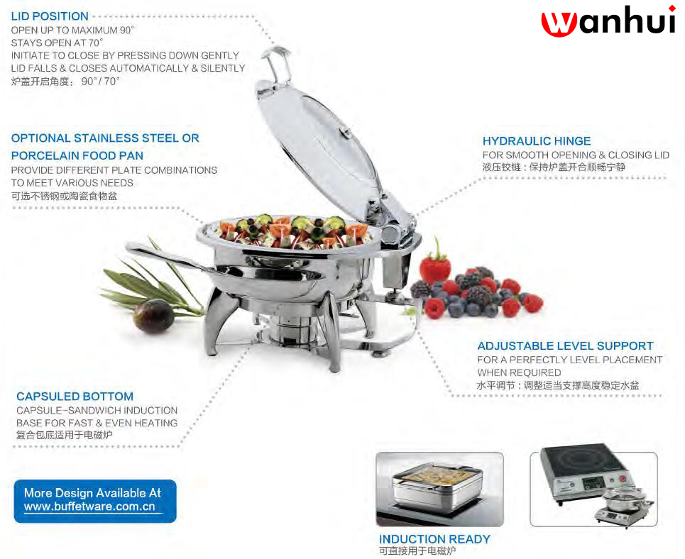 induction chafing didsh