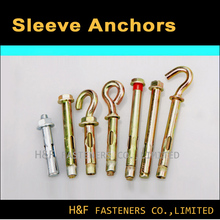 manufacture good quality zinc plated sleeve anchor