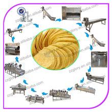 60 kg/h batatas fritas automático que faz máquinas