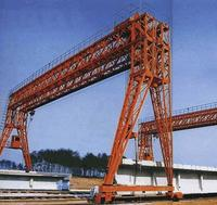 Double main girder gantry crane with hook for project 50/12.5t 8m