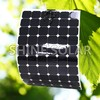 Hot sell low price light weight semi flexible solar panel 240w / 200w for RV / Boats