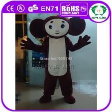 HI EN71 standard cheburashka costume mascot with good ventilation
