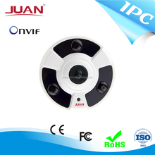 2.0-megapixel 1080P Fisheye 360 degree ip camera, Supports onvif hd ip security camera
