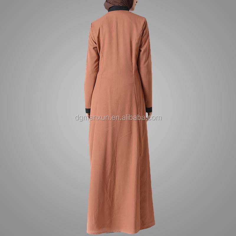 Latest embroidered muslim front open abaya islamic clothing for women turkish cardigan (6).jpg