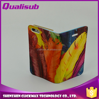 Qualisub Quality Hot Sell Sublimation Magnetic Flip Case