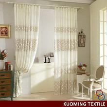 Contemporary new coming embroidered curtain turkey
