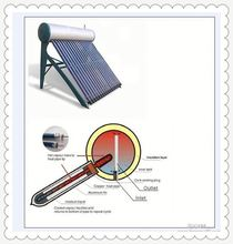 Aesthetical Bathroom Non Pressure Solar Water Heating System