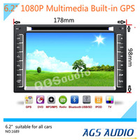 6.2 inch Touch Screen universal Car Dvd Player