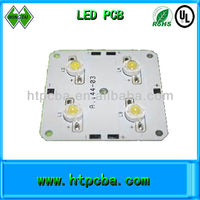 4 leds pcb for solor car single layer bridgelux brand chip