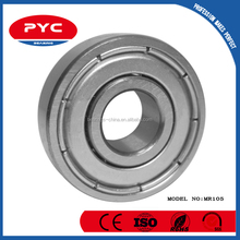 PYC Low Price Mini Sliding Door Bearing With Stainless Steel Cage