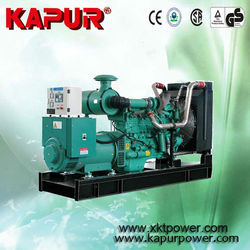 KAPUR 80KW cummins water-cooled diesel generator set from chongqing cummins engine company ltd