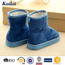 Nice fringe suede sonw boot for young girls in 2015