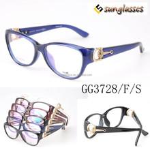 China fashion acetate eyewear optical frame GG3728/F/S