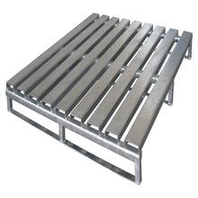 de servicio pesado de zinc plateado de metal plataforma