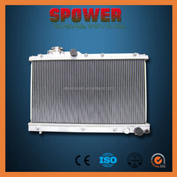 50mm 2row Aluminum CAR Radiator for MITSUBISHI PAJERO NA/NL PETROL 3.0 1983-2000 3.0L AT with oil cooler