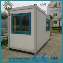 Prefab 20ft container hosuing in china
