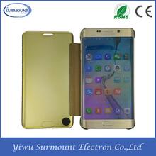 For Samsung Galaxy S6/S6edge/S6edge plus Smart Sleep Protector Shell UV Mirror Case Filp Cover