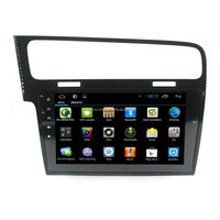 Full Touch Screen Android 4.4 For Quad core for VW Golf 7 2013-2015 multimedia/car audio system /android radio with gps Android