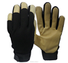 China wholesale Leather motorcycle gloves for pig skin leather Skin tight Industria leather hand gloves
