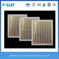 Ceramic PCB with Ro4003c materialpcb for ps2, ENIG finish for microwave application