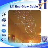 Single Core End Light Cable Plastic optic fiber cable
