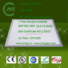 3 years warranty led light panel 2x2 manufacturer from ZHONGSHAN
