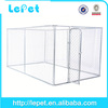 manufacturer wholesale dog cage stainless steel/galvanized dog cage/pet cages for dog