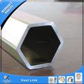 tubería de acero hexagonal