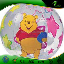 Customize Lovely Inflatable Beach Ball For Kids