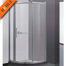 2RC-H6848 artistic bathroom glass lavabo and bathroom shower glass with touch screen control steam shower room