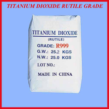 Titanium dioxide rutile r999 for paint industry